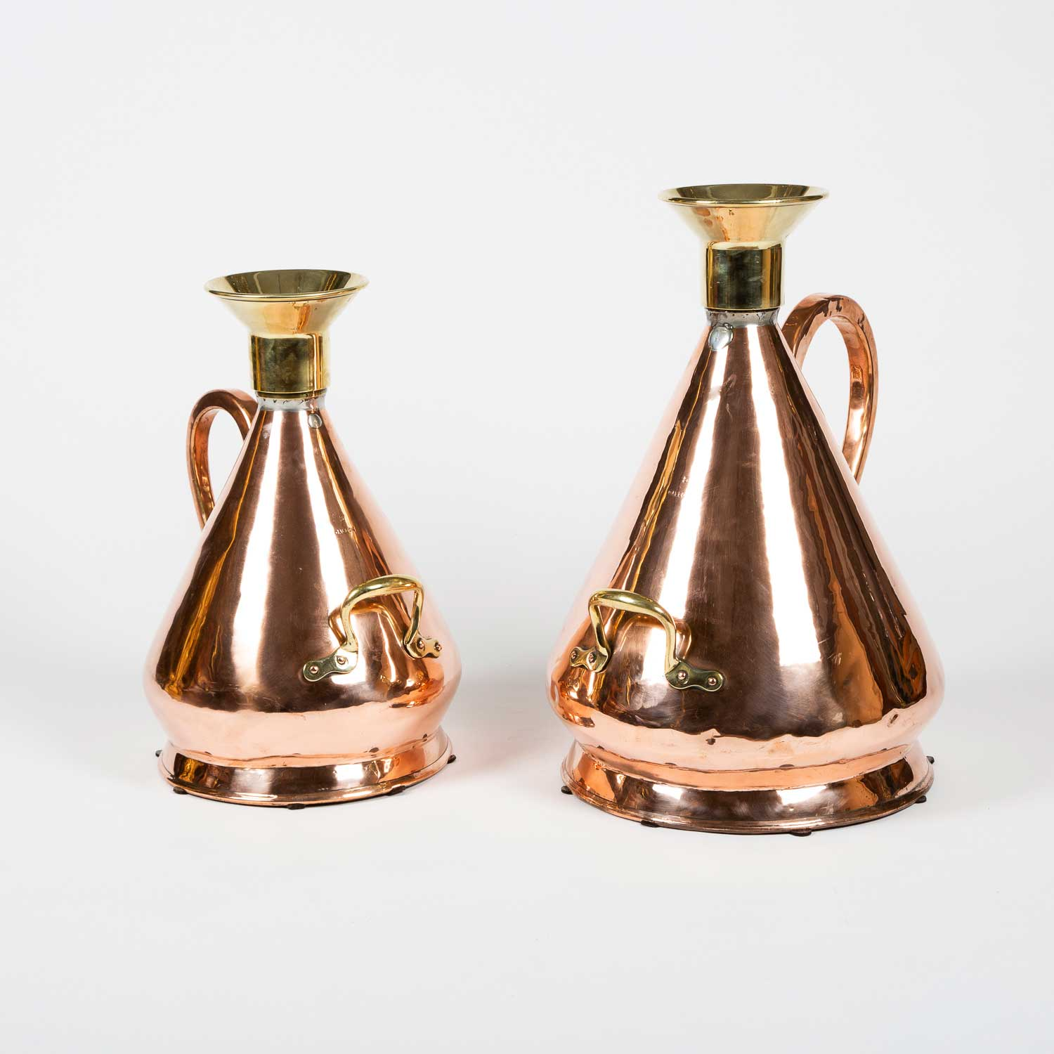 Brass conical standard measures