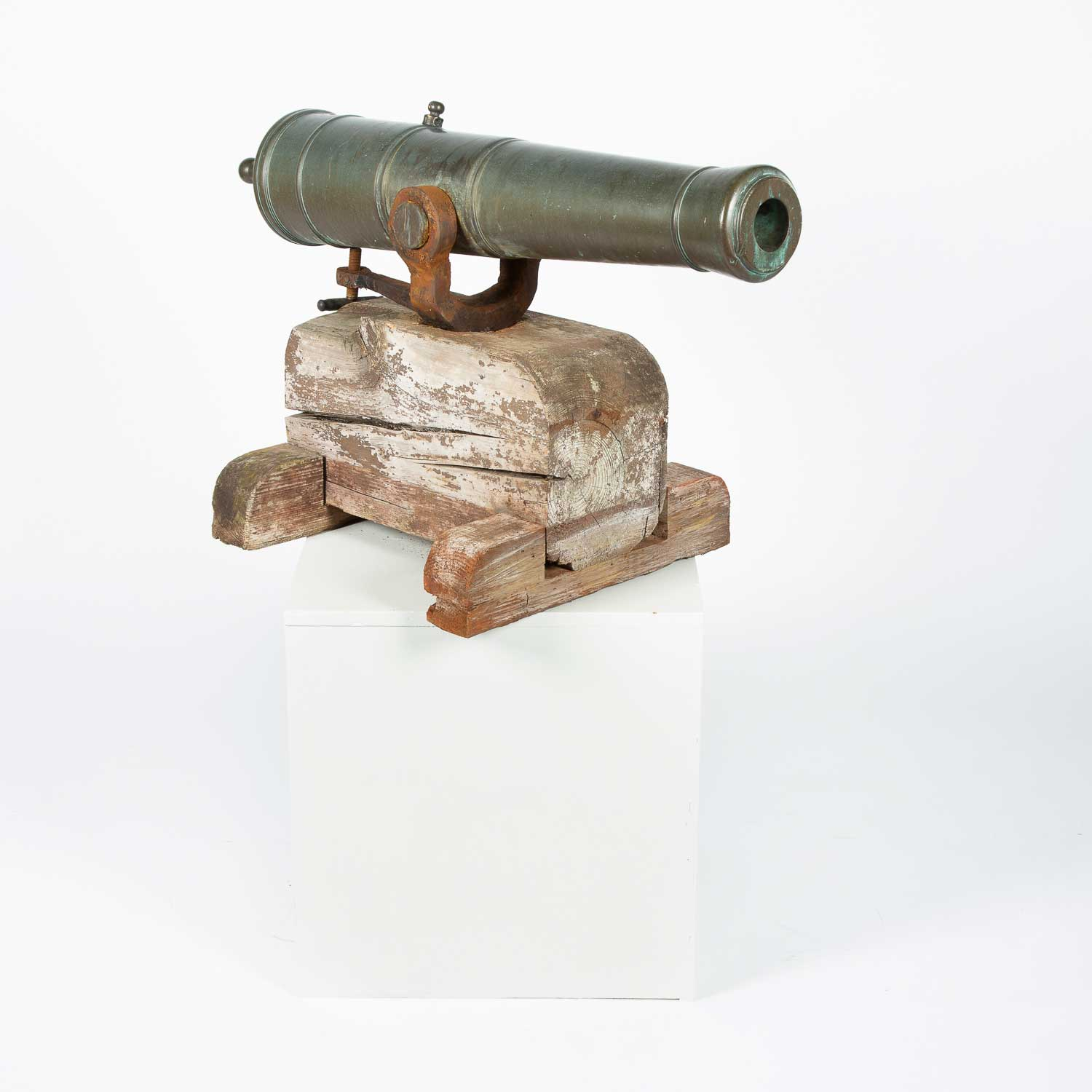 Pair of Danish Cannon