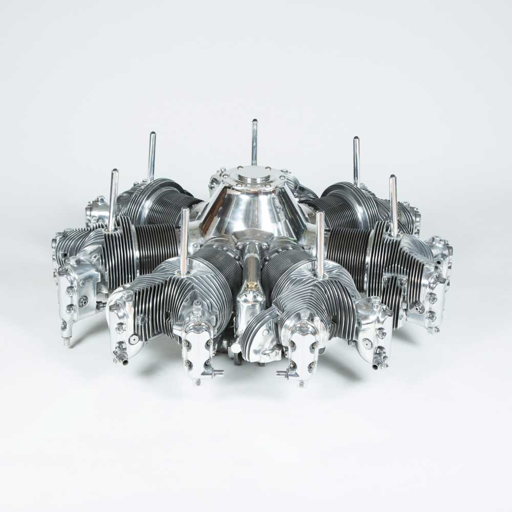 WWII CONTINENTAL RADIAL ENGINE TABLE