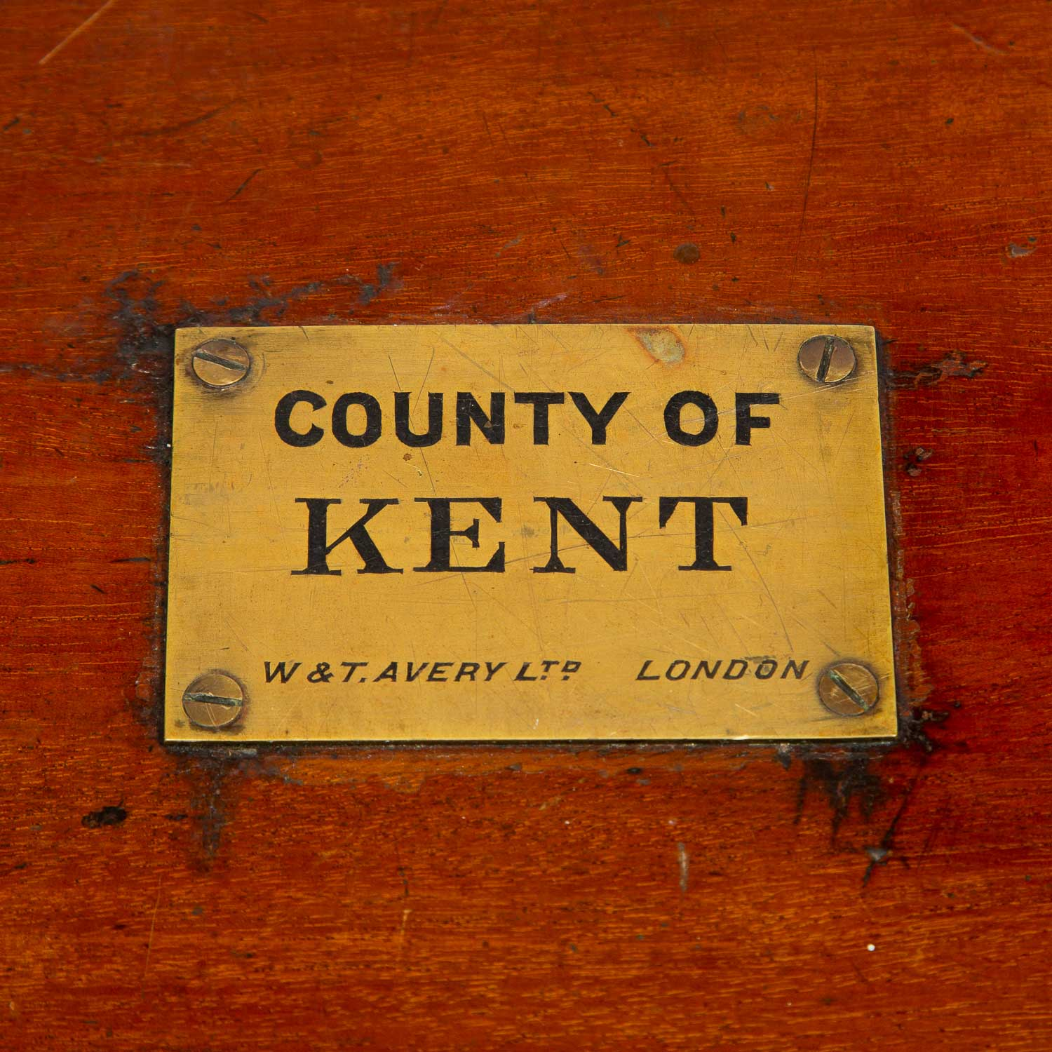 Portable set of Scales for Kent