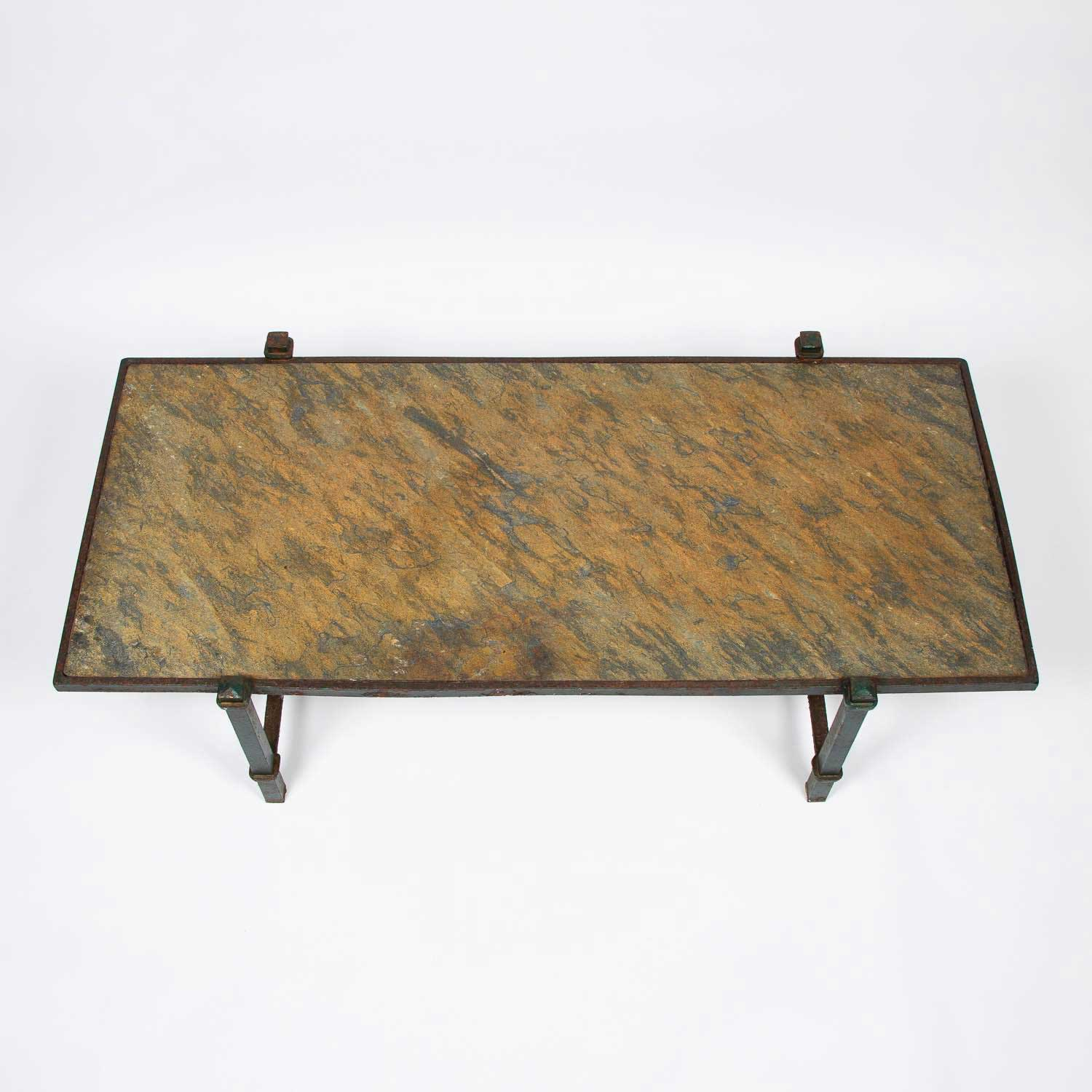 Green Slate table