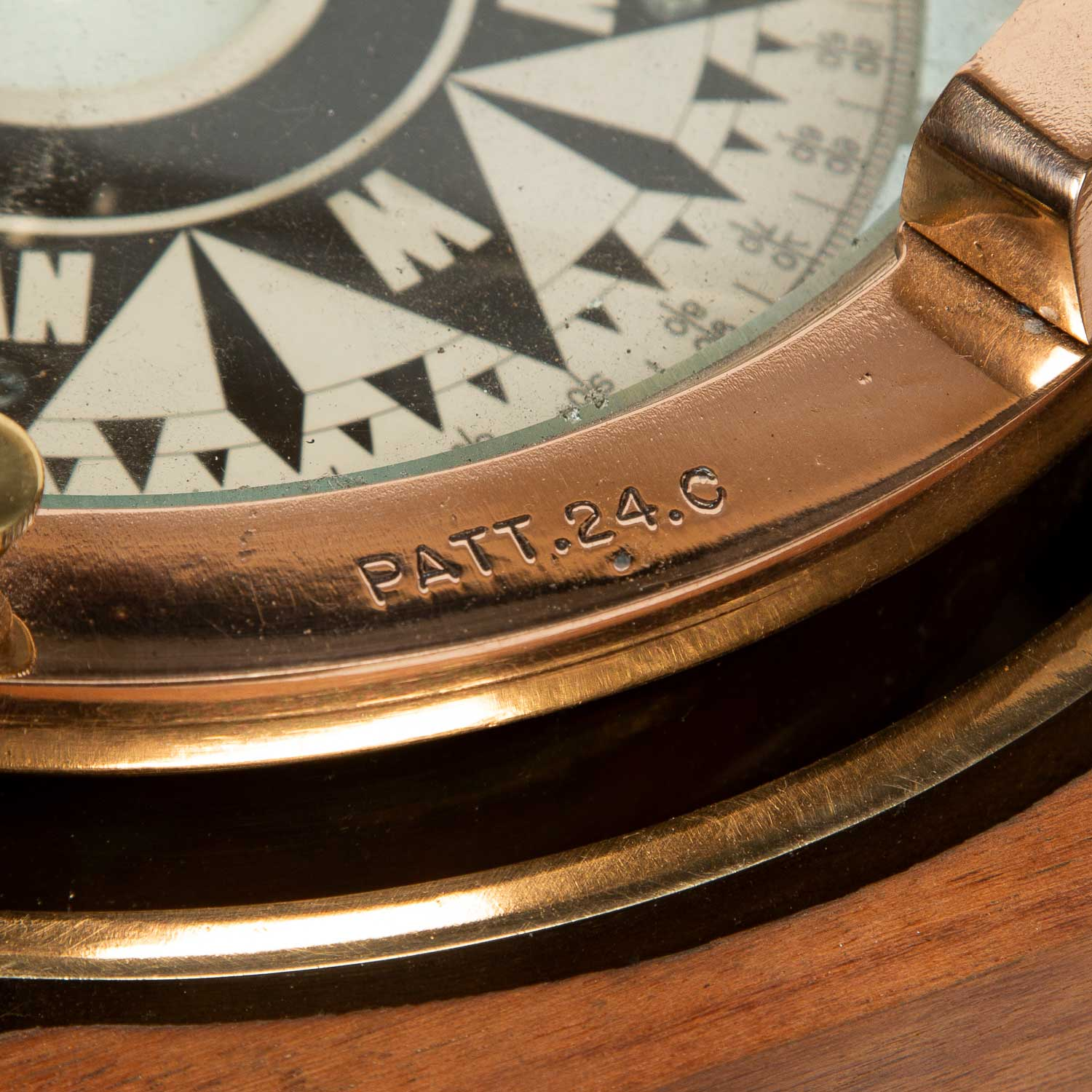 Chetwynd`s patent ship's compass