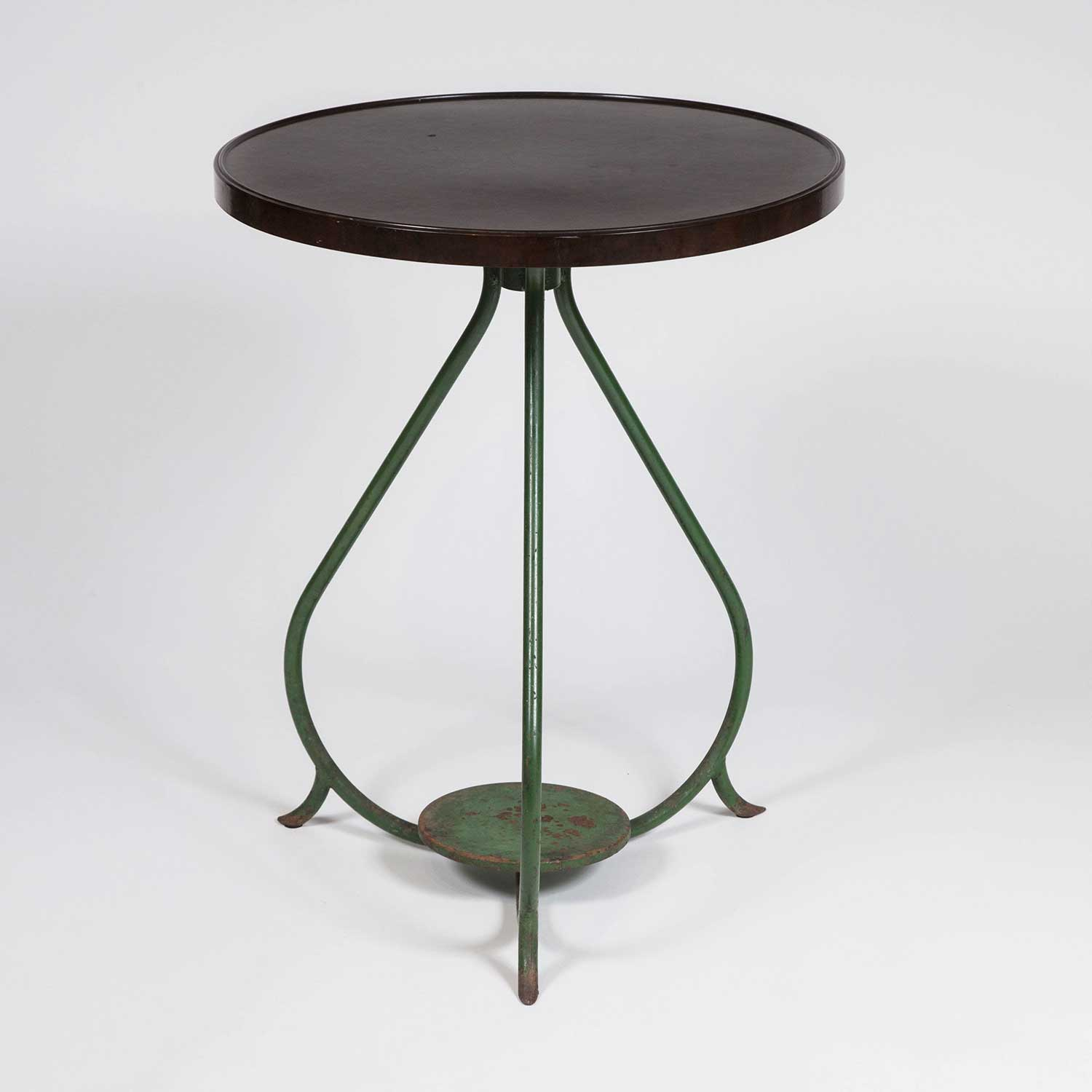 BISTRO TABLE WITH BAKELITE TOP