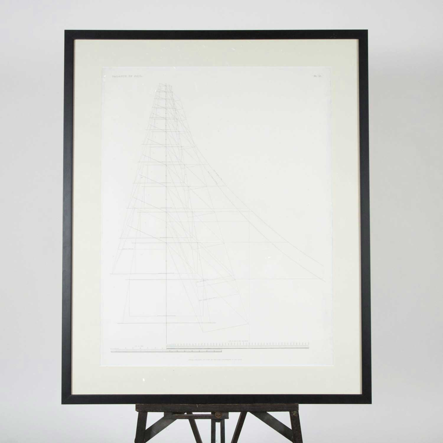 BALANCE OF SAIL - PRINT BY DAY & SON
