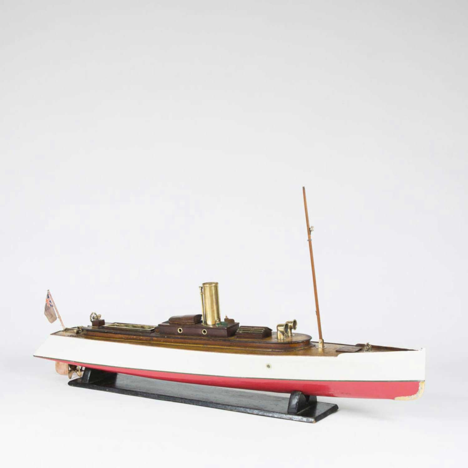"MODEL OF A STEAM LAUNCH ""JANIE"""